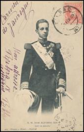 © 1909 - SPAIN - King Alfonso XIII