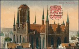 © 1924 - DANZIG - St. Mary's church