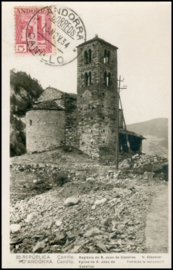 © 1934 - ANDORRA Church Canillo