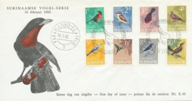¤¤¤ E 043 SURINAME Vogels