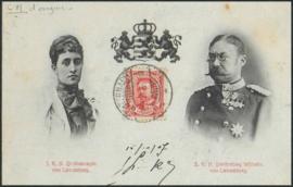 © 1907 LUXEMBOURG Grand Duke William IV