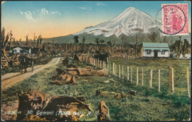 © 1914 - NEW ZEALAND - Mount Egmont