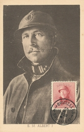 © 1929 - BELGIUM King Albert I