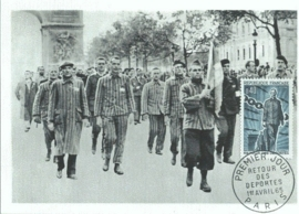 1965 FRANCE - Return of the prisoners WWII