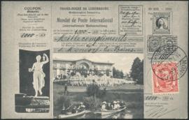 © 1911 LUXEMBOURG Grand Duke William IV