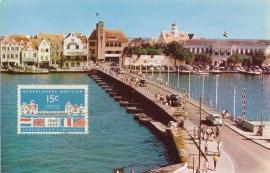 ®® 1956 NVPH 257 NED. ANTILLEN Emmabrug Willemstad