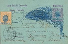 © 1898 - BRAZIL Sugar loaf mountain