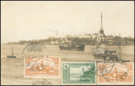 © 1920 - TURKEY Constantinople Leandros Tower