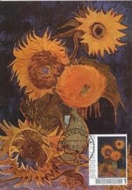 PG031 Van Gogh Vase with sunflowers