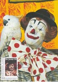 J008 - Nostalgie Jaren '50-'60-'70 Pipo de clown