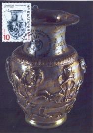 1986 BULGARIA - Jug with goddess