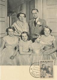®® 1943 - NVPH 166 CURAÇAO Koninklijke familie