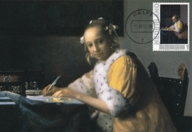 PV007 J. VERMEER Lady writing a letter