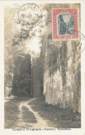 © 1931 - BAHAMAS Queen's staircase Nassau