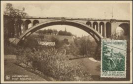 © 1935 LUXEMBOURG Bridge Adolphe