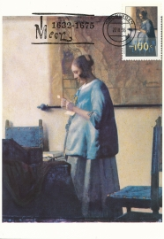 ® 1996 - CATA 1666 Brieflezende vrouw