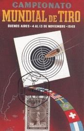 1949 ARGENTINA - Shooting Bullet
