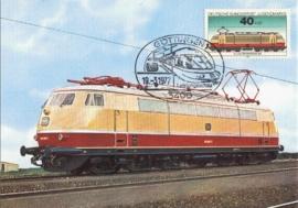 1977 GERMANY - Electric train