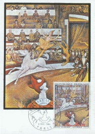1969 FRANCE - Circus by Seurat
