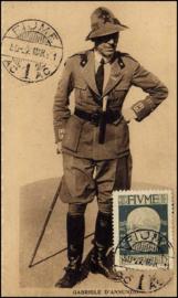 © 1921 - FIUME Gabriele d'Annunzio