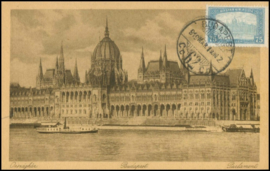 © 1919 - HUNGARY Budapest Parliament