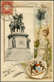 © 1901 - BAVARIA Coat of arms