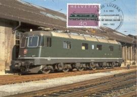 1982 SWITZERLAND Electric train