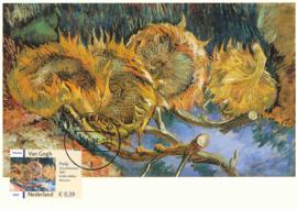 ® 2003 - CATA 2144 Stilleven met vier zonnebloemen