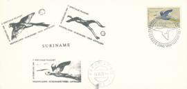®®® 1971 - CATA 553 - SURINAME Reiger