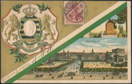 © 1909 - GERMAN REICH - Germania Imperial crown