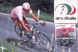 1997 SAN MARINO Cycling Giro Pavel Tonkov