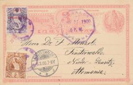© 1900 GUATEMALA Coat of arms