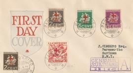 ¤¤¤ 1942 SURINAME Rode Kruis
