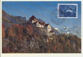 1959 LIECHTENSTEIN Castle Vaduz