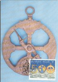 1992 BELGIUM - Naval instrument Columbus