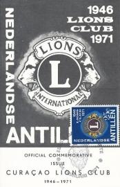 ®® 1971 NVPH 435 NEDERL. ANTILLEN Lions Club