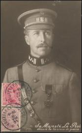 © 1921 - BELGIUM King Albert I