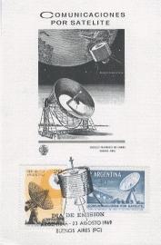 1969 ARGENTINA Parabolic antenna