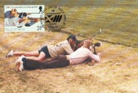 1986 ISLE OF MAN - Shooting