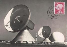 1977 GERMANY - Parabolic antenna
