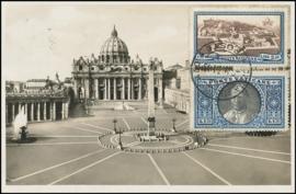 © 1934 VATICAN CITY - St. Peter's square