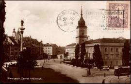 © 1928 - POLAND Sigismund Monument Warsaw