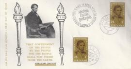 ¤¤¤ E 036 SURINAME Abraham Lincoln