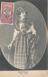 © 1916 MARTINIQUE Creole woman costume