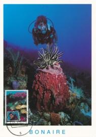 ®® 1991 NVPH 968 NED. ANTILLEN Tropische vissen