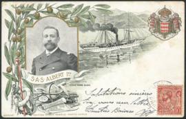 © 1907 - MONACO Prince Albert I