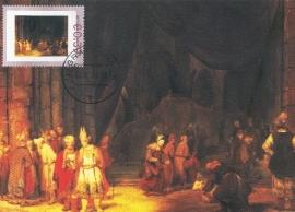 R024 A. de GELDER De voorhof van een tempel