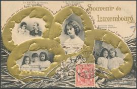 © 1909 LUXEMBOURG Grand Duke William IV