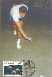 1997 SAN MARINO Petanque