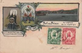 © 1906 - HAÏTI - Heraldic shield